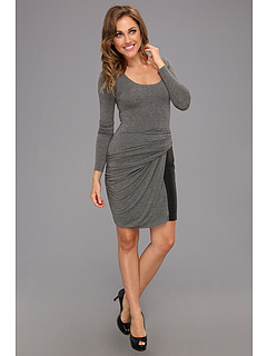 SALE! $64.99 - Save $146 on Bailey 44 How Do I Love Thee Dress (Mercury Heather Black) Apparel - 69.20% OFF $211.00