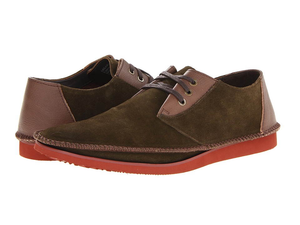 Deer Stags Delaware Mens Shoes (Olive)