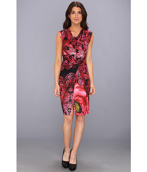 Desigual - Anna Laura Dress (Borgona) Women's Dress
