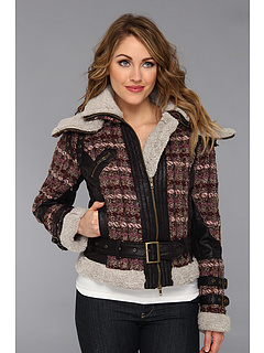 SALE! $99.99 - Save $184 on Desigual Junio Overcoat (Ruby Wine) Apparel - 64.79% OFF $284.00