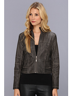 SALE! $44.99 - Save $64 on Brigitte Bailey Kaya Jacket (Charcoal) Apparel - 58.72% OFF $109.00