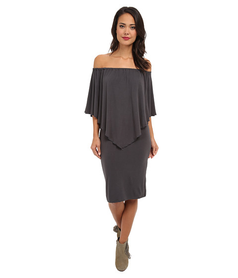 Culture Phit - Nalah Dress (Grey) Women's Dress