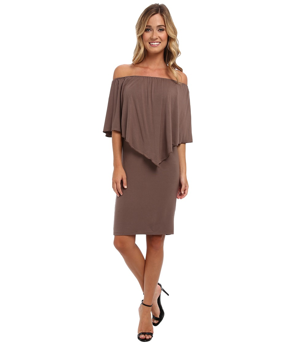 Culture Phit - Nalah Dress (Khaki) Women's Dress
