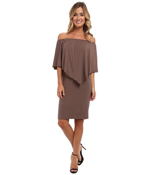 Culture Phit - Nalah Dress (Khaki) Women's Dress