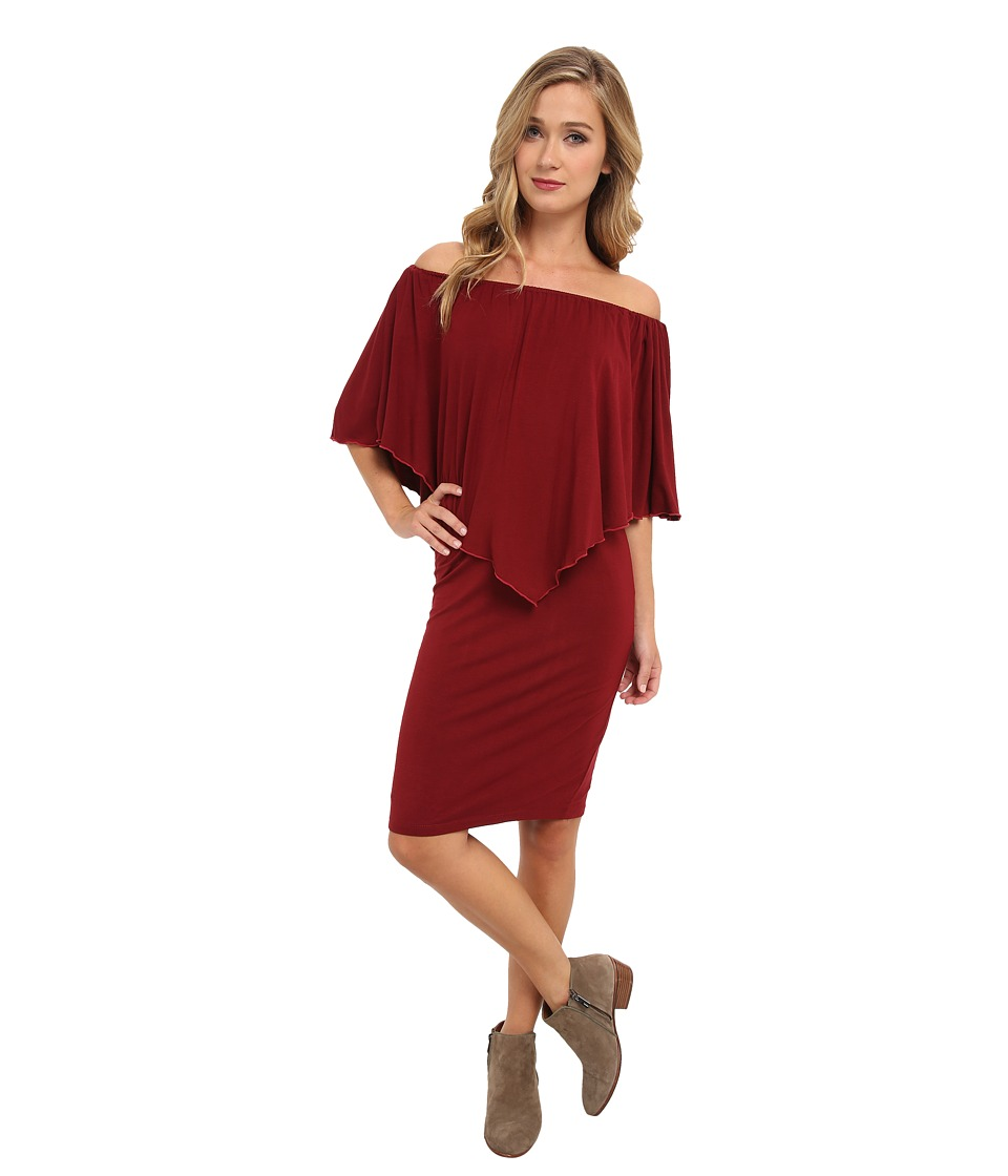 Culture Phit - Nalah Dress (Maroon) Women's Dress
