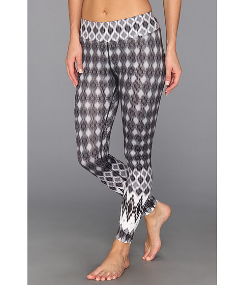 Prana - Roxanne Printed Legging (Black Nordic) Women's Casual Pants