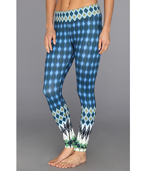 Prana - Roxanne Printed Legging (Blue Nordic) Women's Casual Pants