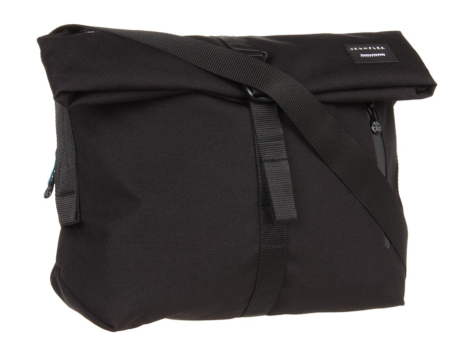 Crumpler - The Flock of Horror iPad/Tech Shoulder Bag (Black) Messenger Bags