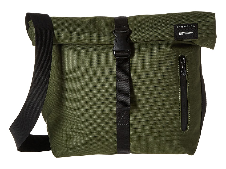 Crumpler - The Flock of Horror iPad/Tech Shoulder Bag (Rifle Green) Messenger Bags