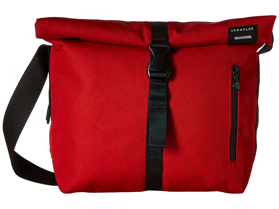 Crumpler - The Flock of Horror iPad/Tech Shoulder Bag (Rust Red/Navy) Messenger Bags