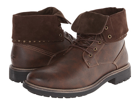 Steve Madden - M-Mylow (Dark Brown) Men's Lace-up Boots