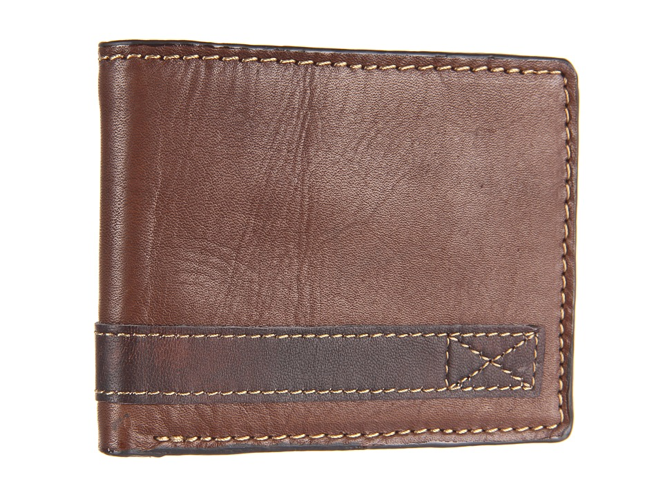 Relic - Barea Traveler (Brown) Bi-fold Wallet