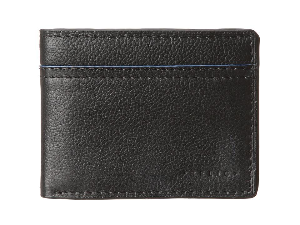 Relic - Avondale Colorblock Traveler Wallet (Black) Bi-fold Wallet