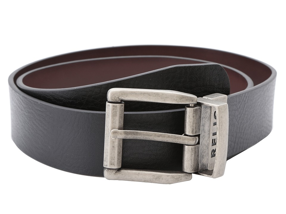 Relic - Mitch Reversible Belt (Black) Men's Belts