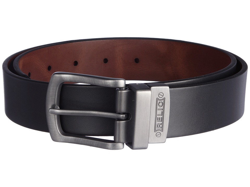 Relic - Gun Reversible Belt (Black) Men's Belts