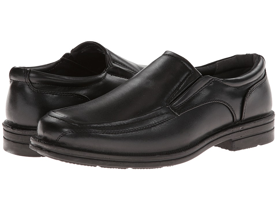 Deer Stags - Ivan (Black) Men's Slip on Shoes