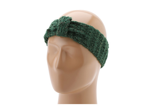 Steve Madden - Glitter Knit Headwrap (Hunter) Headband