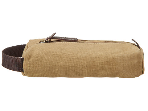Timberland - Canvas Cord Case (Khaki) Travel Pouch