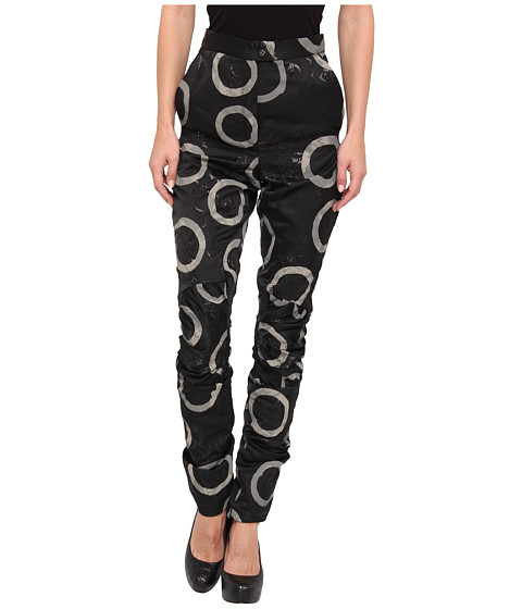 Vivienne Westwood Gold Label - Phoenix Trouser (Black/Ivory) Women's Clothing