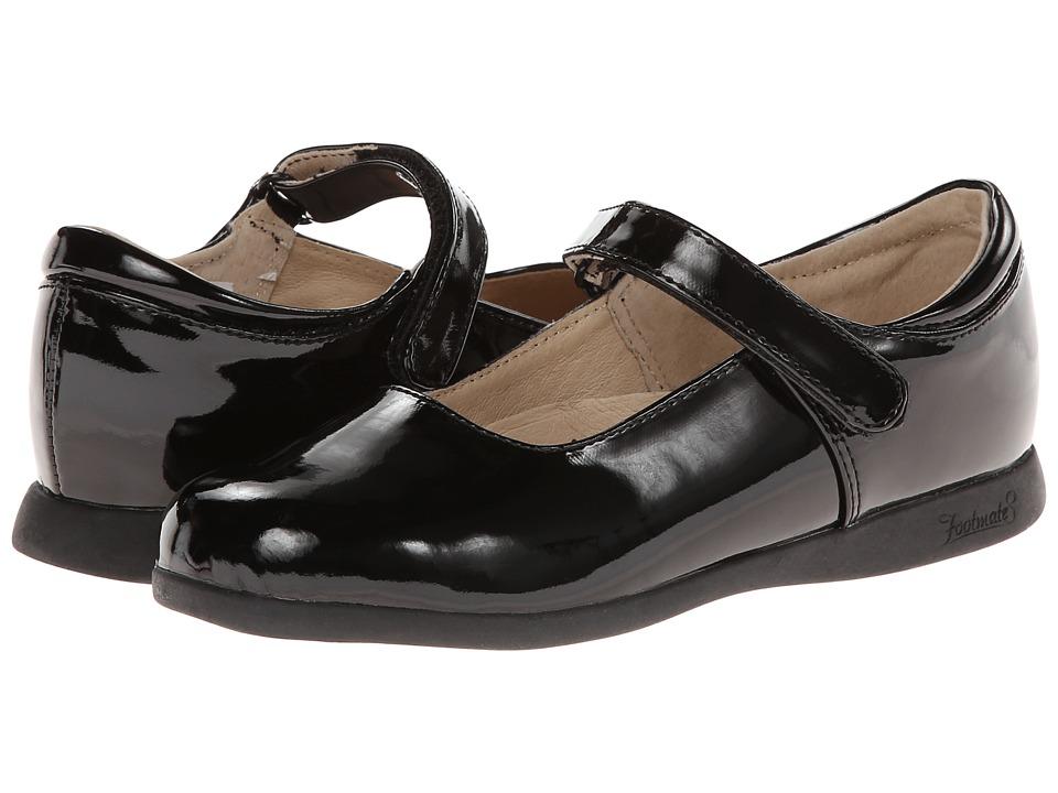 FootMates - Liz 2 (Toddler/Little Kid) (Black Patent) Girl's Shoes