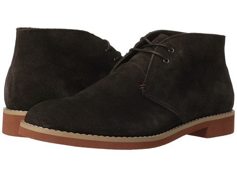 Tommy Hilfiger - Stetsen (Dark Brown Suede) Men's Shoes