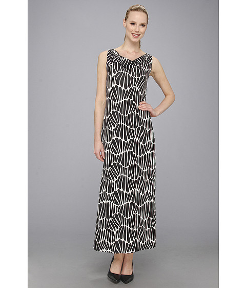 Tommy Bahama - Sea Tangle Cowl Long Dress (Black) Women's Dress