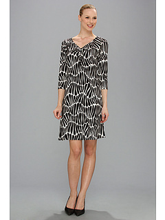 SALE! $66.99 - Save $81 on Tommy Bahama Sea Tangle Three Quarter Sleeve Dress (Black) Apparel - 54.74% OFF $148.00