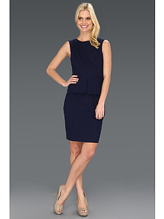 SALE! $191.99 - Save $156 on Elie Tahari Francesca Eyelet Dress (Evening Blue) Apparel - 44.83% OFF $348.00
