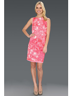 SALE! $156.99 - Save $191 on Elie Tahari Alyse `Dreamscape` Printed Dress (Full Bloom) Apparel - 54.89% OFF $348.00