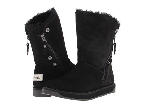 Fitzwell - Tahoe II (Black) Women's Zip Boots