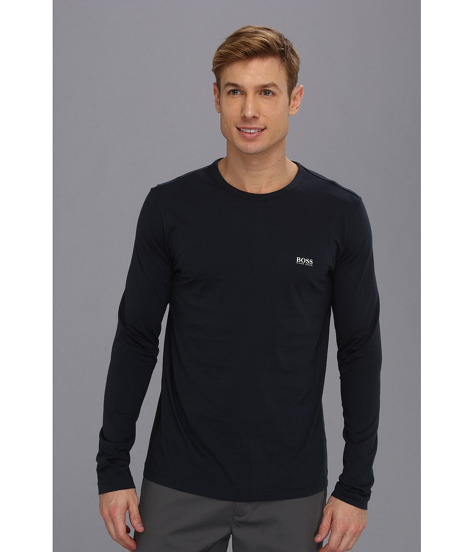 BOSS Green - Togn 10106415 01 (Navy) Men's Long Sleeve Pullover