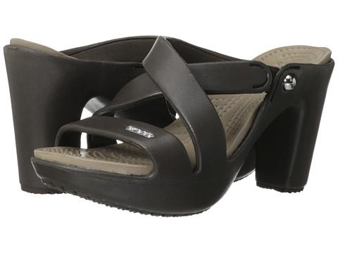Crocs - Cyprus IV (Espresso/Mushroom) Women's Sandals