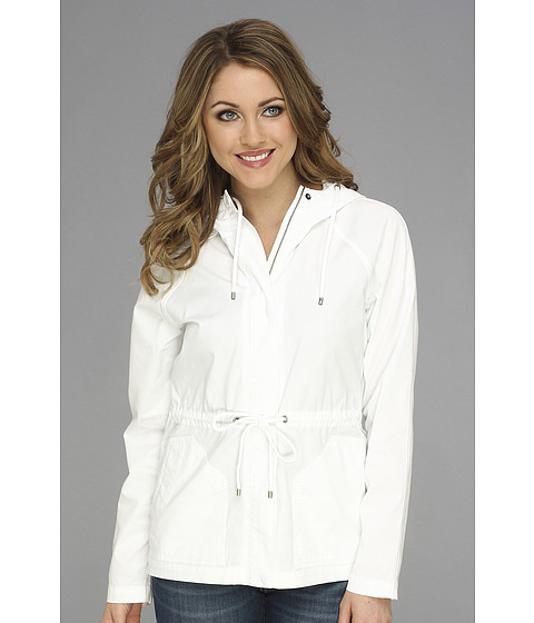 Tommy Bahama - Marlo Ripstop Hooded Jacket (White) Women