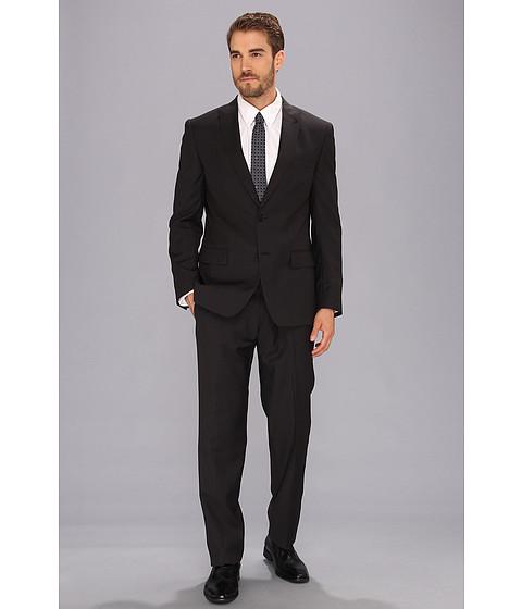 John Varvatos Star U.S.A. - Berkley - 2 Button Peak Suit (Black Stripe) Men