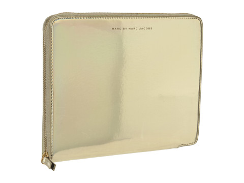 Marc by Marc Jacobs Techno Tablet Sleeve (Pale Gold Holographic) Computer Bags