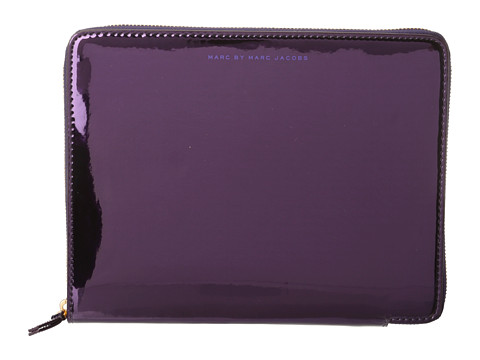 Marc by Marc Jacobs Techno Tablet Sleeve (Purple Holographic) Computer Bags