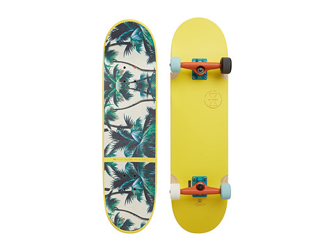 Globe - Banshee (Yellow Palms) Skateboards Sports Equipment