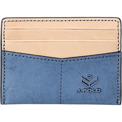 SALE! $19.99 - Save $16 on J.Fold Thunderbird Flat Card Carrier (Slate Blue) Bags and Luggage - 43.69% OFF $35.50
