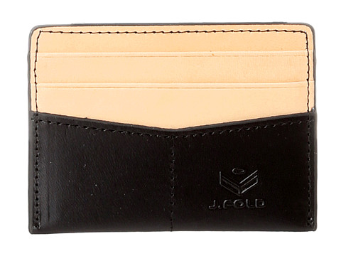J.Fold - Thunderbird Flat Card Carrier (Black W/Natural) Credit card Wallet