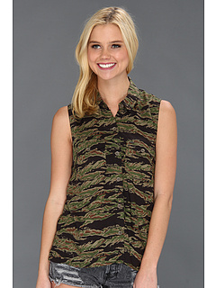 SALE! $14.99 - Save $31 on Obey Keegan S L Woven (Tiger Camo) Apparel - 67.41% OFF $46.00