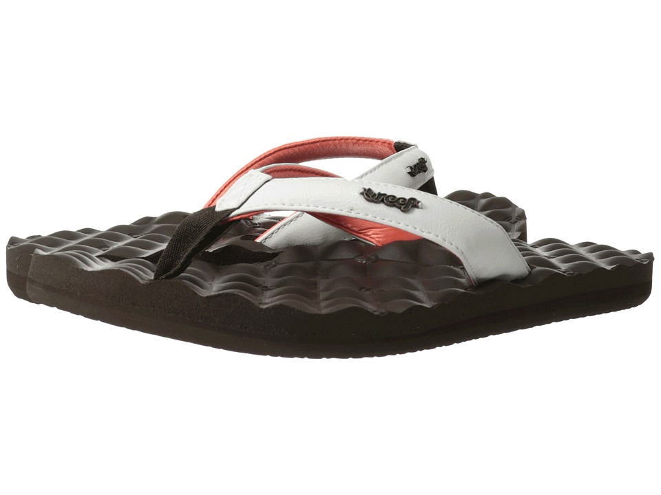 Reef Reef Dreams (Brown/White/Coral) Women