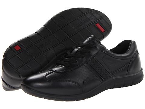 ECCO - Babett Premium Tie (Black/Black) Women's Shoes
