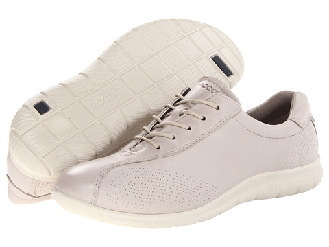ECCO - Babett Tie (Gravel Firefly) Women's Lace up casual Shoes
