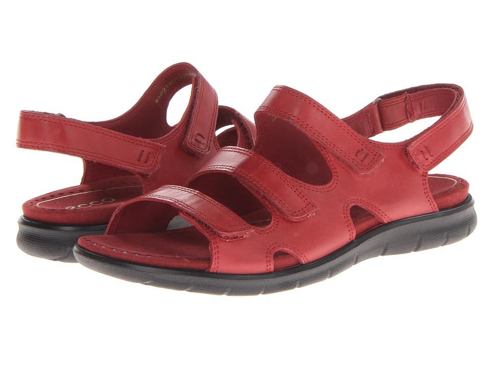 ECCO - Babette Sandal 3-Strap (Brick Firefly) Women's Shoes