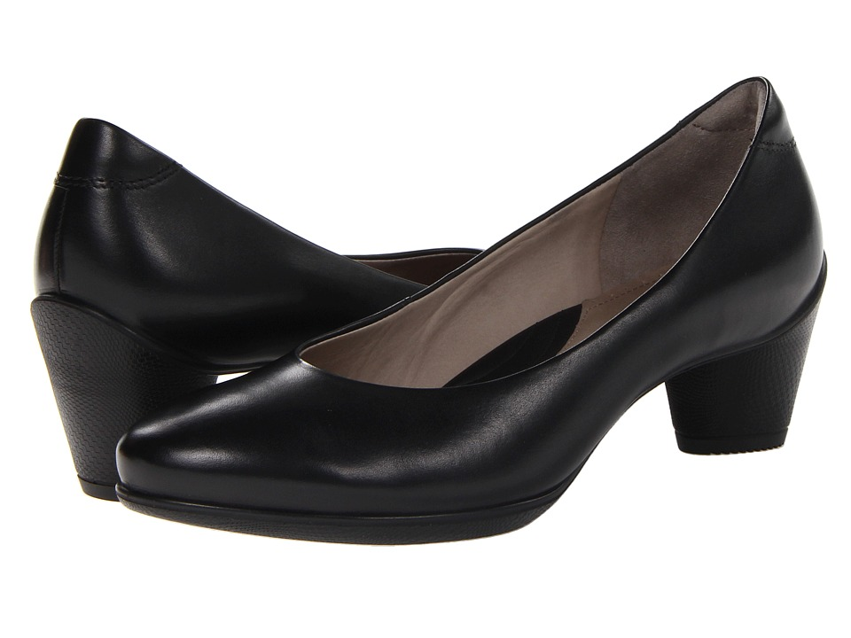 ECCO - Sculptured 45 Pump (Black Dress) Women's Shoes
