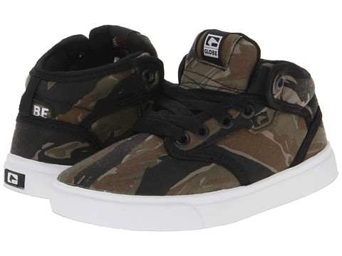 Globe Kids - Motley Mid (Little Kid/Big Kid) (Camo) Boys Shoes