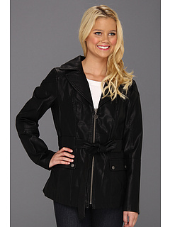 SALE! $42.99 - Save $137 on Jessica Simpson Blazer Cut w Tie Belt (Black) Apparel - 76.12% OFF $180.00