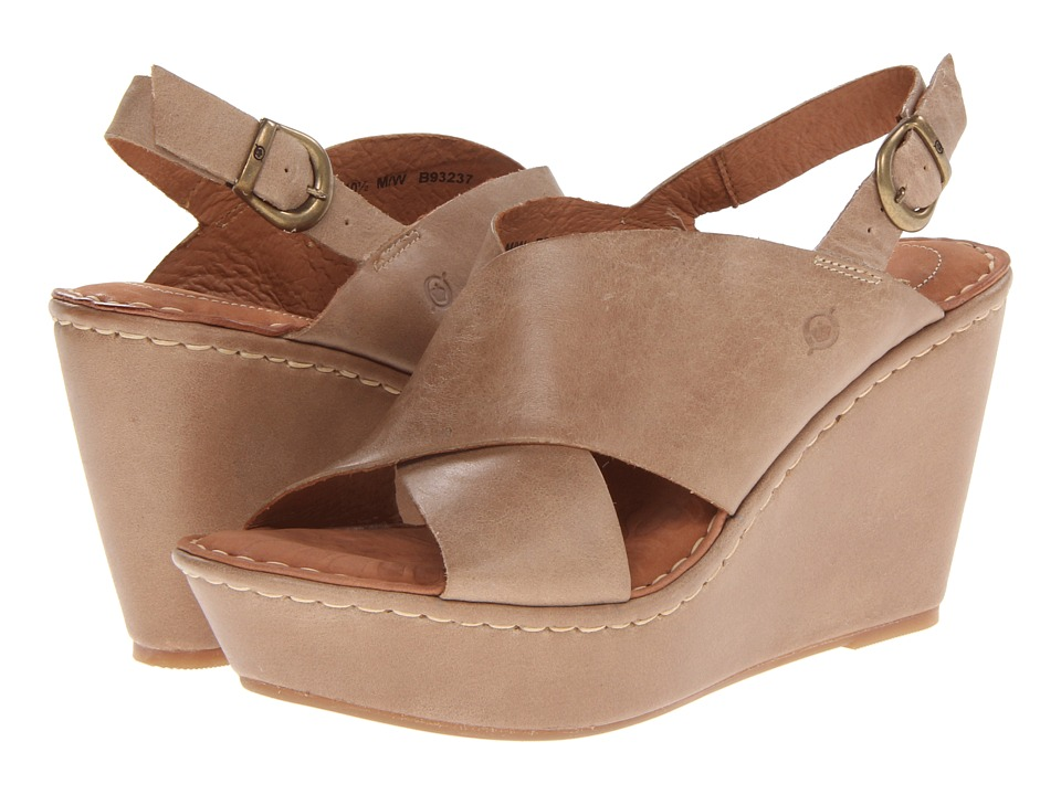 cfde25a7f85 ... UPC 887316222131 product image for Born Emmy (Tan) Women s Wedge Shoes