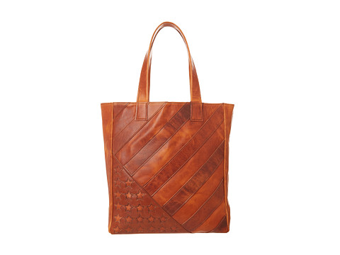 Frye Flag Tote (Tan) Handbags