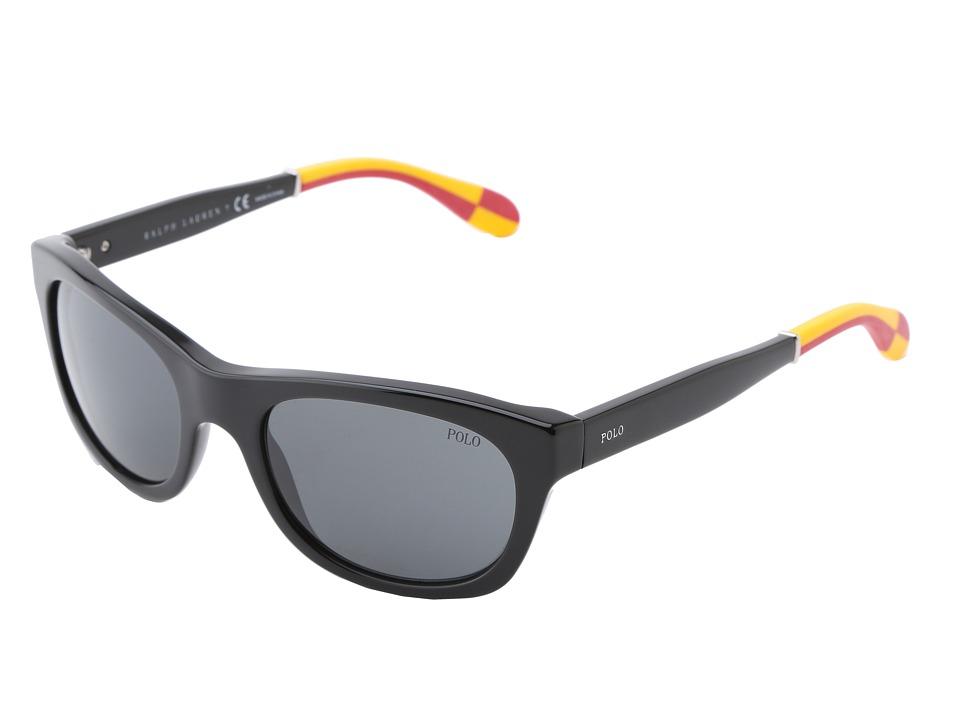 Polo Ralph Lauren - 0PH4077 (Black) Fashion Sunglasses